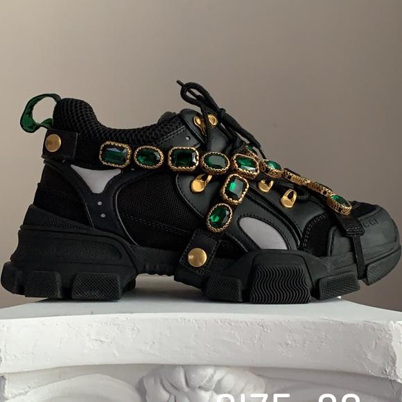 Gucci Shoes   Gucci Flashtrek Diamond